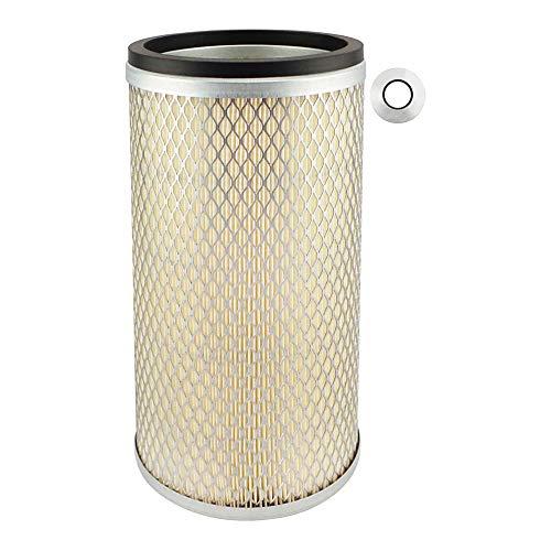 Baldwin Filters PA2372 - Filtro de aire resistente (5 - 31/32 x 10 – 3/8 pulgadas)