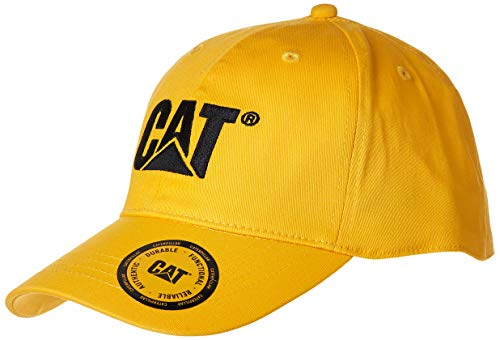Caterpillar Mens Trademark Stretch-Fit Cap