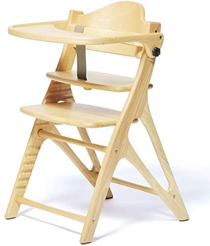 ベビーチェア キッズチェア ハイタイプ 北欧風 パステル ハイチェア 子供用椅子 木製 テーブル付 大和屋 アッフル AFFEL 人気 ランキング おしゃれ A01 (ピュアナチュラル)
