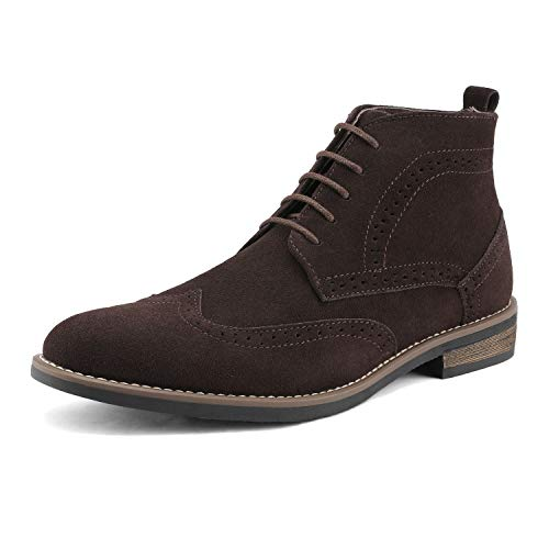 Men/'s Suede Leather Chelsea Chukka Oxfords Dress Ankle Boots Casual Desert Shoes