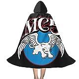 YRUI Mc5 Rock Band Flying Elephant Album Cover Capa con capucha para niños, disfraz de Halloween, cosplay, color negro