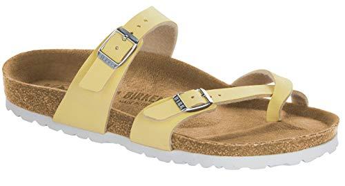 Birkenstock Mayari Birko Flor, Damen Pantoffel, Gelb - gelb - Größe: 35 EU