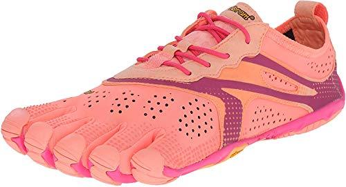 Vibram FiveFingers V-RUN, Damen Outdoor Fitnessschuhe, Mehrfarbig (Pink/red), 38 EU