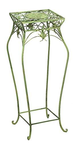 aubaho Meuble Tableau Floral pour Pot de Fleurs Vert Plantes Style Antique
