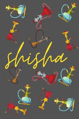 Shisha Water Pipe Composition Notebook Chill Time: For Smokers college ruled