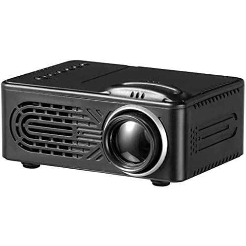 ZLQBHJ Mini HD Proyector, proyector de Cine en casa portátiles 1080p admitido, para Video proyector DIRIGIÓ Proyector de películas al Aire Libre