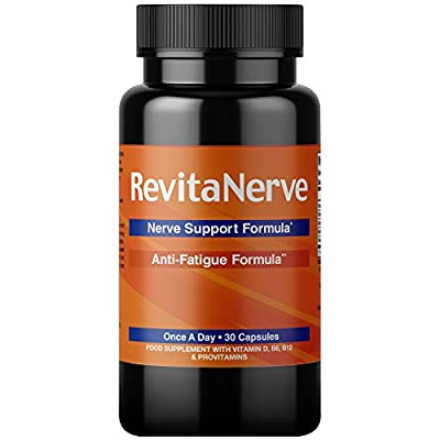 Nerve Pain Relief – Once-per-Day Neuropathy Supplement, UK Compliant