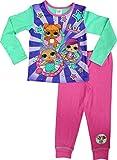 LOL Surprise Dolls Pyjamas for Girls Soft Cotton PJ Set (Lilac & Green, 56 Years)