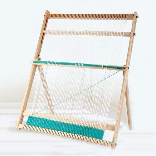 Webrahmen Groß Für Erwachsene Strickmaschine Dauerhaft DIY Textil Nähwerkzeug Hochwertige (49x64x3cm)