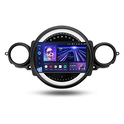 ADMLZQQ para BMW Mini 2007-2015,Android 10 Car Multimedia Bluetooth Radio con Pantalla Táctil De 9''/Enlace Espejo/3D Dinámica De Conducción En Tiempo Real/Mandos De Volante/Cámara Trasera,Cc3,3+32G