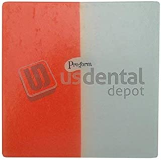 PRO-FORM - DUAL-COLOR Mouthguards Laminate Orange/White 5x5 12pk 0.160in thick. K# 9598280 [ thermoplastics termoformados vacuum forming material ] 9598280 113769 Us Dental Depot