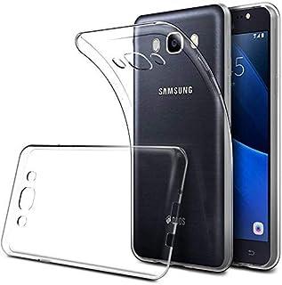 SharpEseller Ultra Hybrid Back Cover Case Designed for Samsung Galaxy J7 / J7 Nxt - Crystal Clear