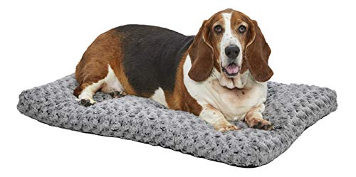 MidWest Homes for Pets Deluxe Dog Beds | Super Plush Dog amp Cat Beds Ideal for Dog Crates | Machine Wash amp Dryer Friendly 1Year Warranty