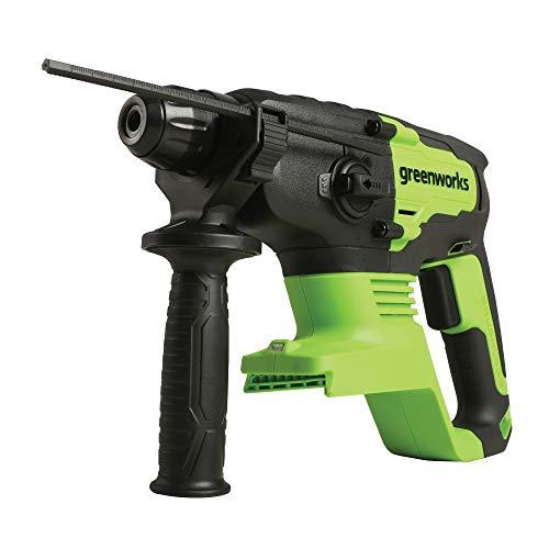 Greenworks 24V Brushless SDS 2J Rotary Hammer, Battery Not Included HM24L00