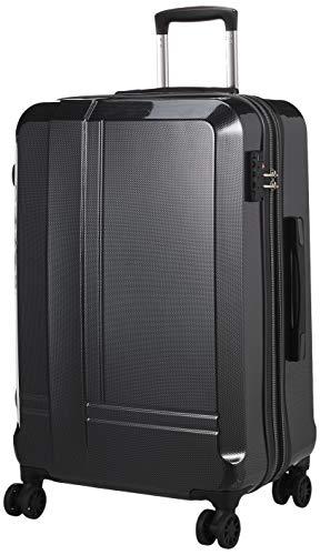 [ヒロディービーシー] ライトバリュー、スーツケース ライトバリュー 保証付 65L 3.7kg カーボンブラック