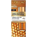 Age Perfect Hydra Nutrition Honey De-puff Bags Eye Gel, 0.5 fl oz (Pack of 2)