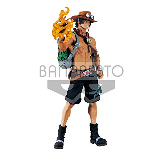 Banpresto Figura One Piece - Portgas D. Ace Pvc Figure 30 cm
