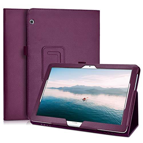 KATUMO Funda para Huawei Mediapad T5 10.1 Pulgadas Book Cover con Pen Holder Mediapad T5 10
