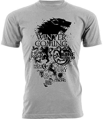 Tshirt Game of Thrones casate - Il Trono di Spade - Serie TV - Idea Regalo