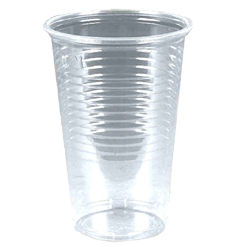 sellaviva Trinkbecher transparent Plastik Automatenbecher 0,2l Einwegbecher (100 Stück)