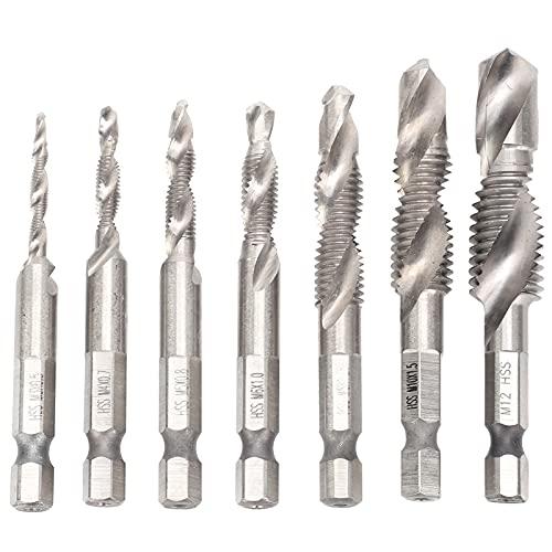 Presente DiferenteFuradeira, furação e kit de ferramentas 7 unidades Kit de rosca de rosca para conjunto de torneiras para indústria [Audio CD]