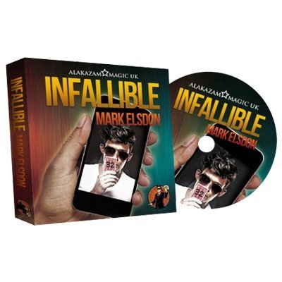Infallible (DVD and Gimmick) by Mark Elsdon and Alakazam Magic - DVD