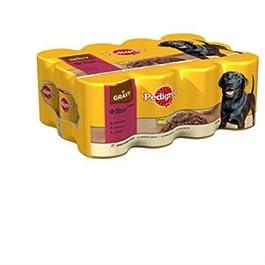 Pedigree Chunks in Gravy Adult Dog Food Tins 400gm 12 Pack