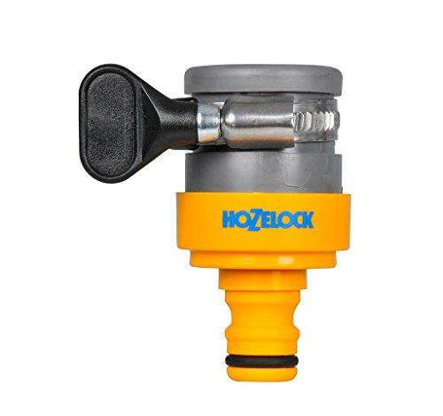 Hozelock - Adaptador para grifos sin rosca diámetro máximo 18 mm