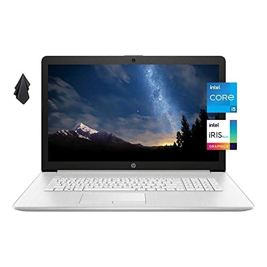2021 Newest HP 17 Laptop, 17.3″ FHD IPS Display, 11th Gen Intel Core i5-1135G7, Intel Iris Xe Graphics, 16 GB RAM, 512 GB SSD, WiFi, Webcam, Long Battery Life, Mics, Windows 10, Silver (Latest Model)