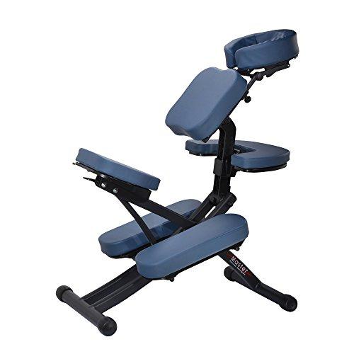 Master Massage 10114 Rio - Silla de masaje portátil con soporte de cable y...