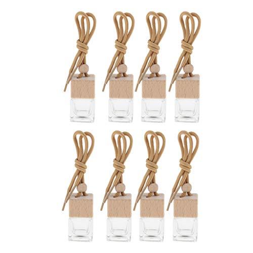8 Unids 6 ML Coche Colgante De Perfume Botella De