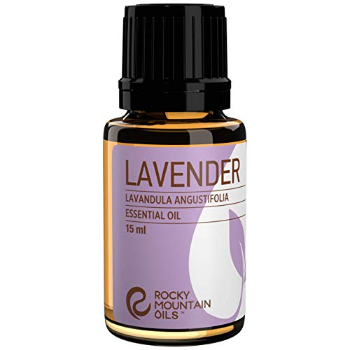 Rocky Mountain Oils Lavender Essential Oil 15ml - 100% Pure...