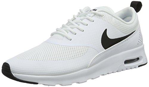 Nike Damen WMNS Air Max Thea 599409-103 Laufschuhe, Weiß (White/Black), 38.5 EU