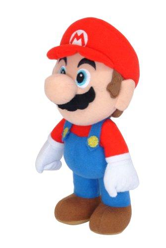 SUPER MARIO - Mueco de Peluche de Mario (21 cm)