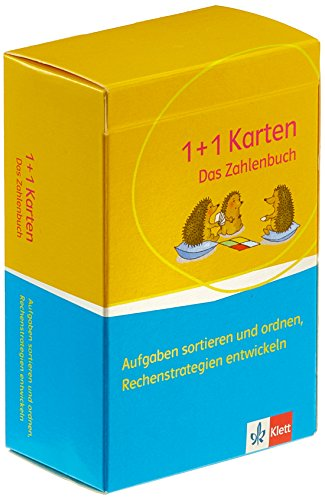 Das Zahlenbuch 1-2: 1-plus-1-Karten zum Entwickeln von Rechenstrategien Klasse 1-2 (Das Zahlenbuch. Ausgabe ab 2017)