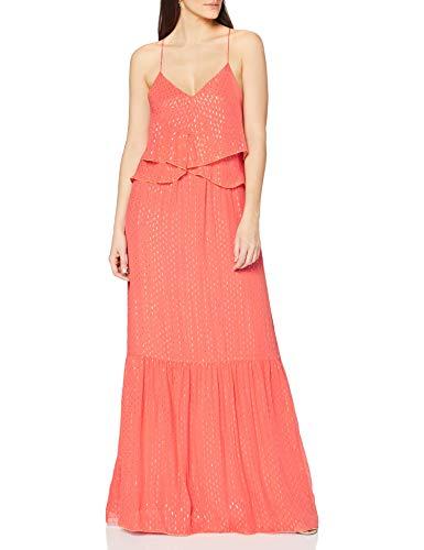 Intropia P624VEX06243119 Vestido de Fiesta  Naranja (Coral Oscuro 119)  40 (Tamaño del Fabricante:40) para Mujer
