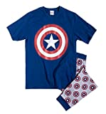 TDP Textiles Mens Captain America Pyjamas