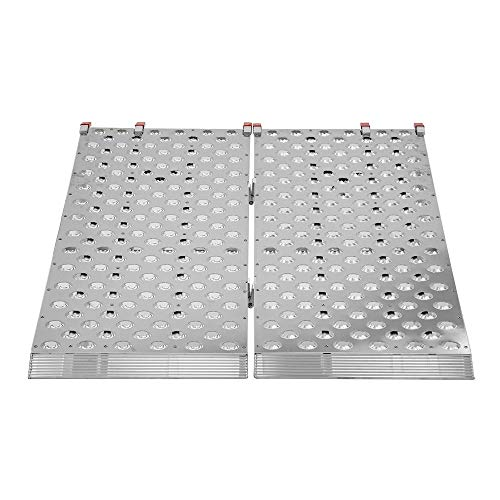"Black Widow BFP-7044 Aluminum 5' 10"" Bi-Fold ATV Ramp"
