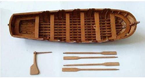 Modellschiff Wohnzimmer Dekorationen Chem Segelboot Modell 1/50 Lasergeschnittenes Holzsegelboot Modell Präzises Holzboot Kit für Geschenk Für die Dekoration