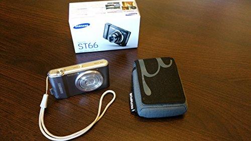 Samsung ST66 Digitalkamera (16 Megapixel, 5-fach opt. Zoom, 6,9 cm (2,7 Zoll) Display, microSD-Karte, bildstabilisiert) silber