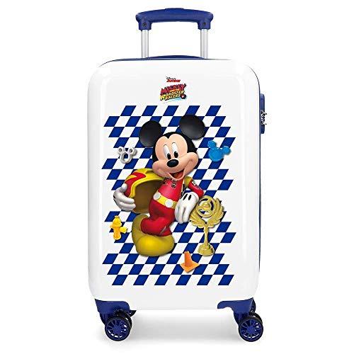 Mickey Race Valigia per bambini, 55 cm, 33 liters, multicolore (Multicolor)