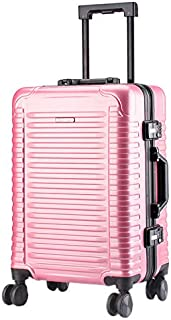 Suitcase Luggage Box Fashion Horizontal Strip 20-Inch Trolley Case Universal Wheel Travel Suitcasesuitcase,A,20inch