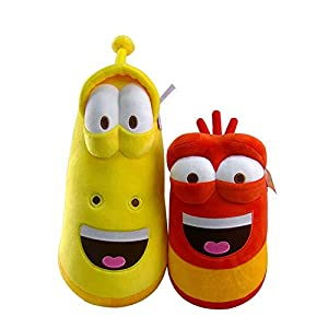 xunlei Peluche Poupée 2pcs 20cm Cute Funny Creative Plush Toys Stuffed Doll Movie & TV Cartoon Stuffed Worm Dolls Kid Girls Birthday Gift