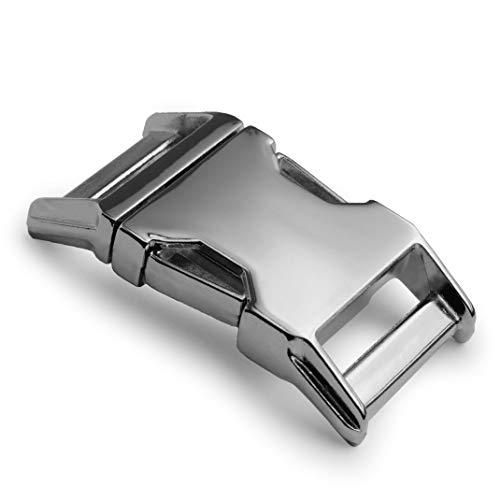 Metall-Klickverschluss Alumaxx, Set aus 2 Stück, 1