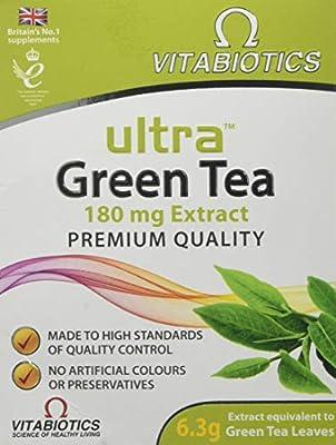 Vitabiotics Ultra Green Tea - 30 Tablets by VITABIOTICS LTD