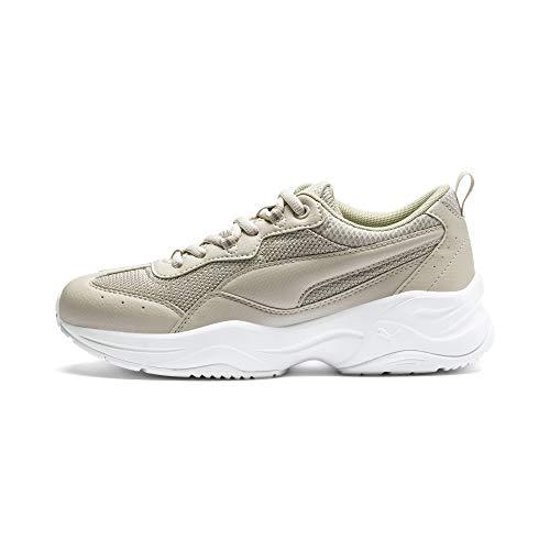 PUMA Cilia, Zapatillas Mujer, Gris (Silver Gray/Silver/White), 41 EU 🔥