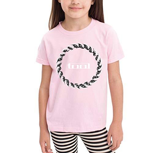 Tool Band Eyes Children's T-Shirt Pink 2t