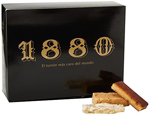 1880 - Pack Tu Navidad Turrón de Jijona 400G + Turrón de Alicante 400G + Turrón de Yema Tostada 400G, Calidad Suprema Típico Dulce Navideño Receta Artesanal, Turrón Tradicional, 1200 G