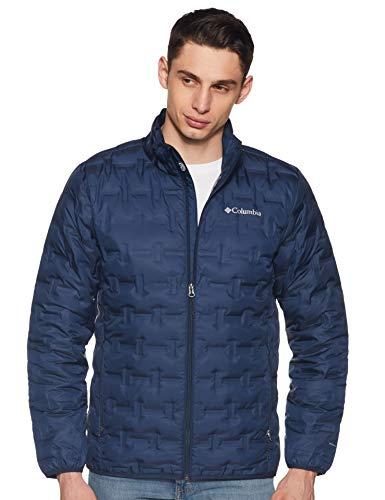 Columbia Men's Delta Ridge Down Winter Jacket, Insulated, Water repellent, X-Large, Collegiate Navy