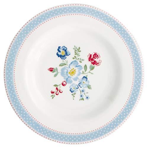 GreenGate Teller Evie Weiß 15 cm Porzellan Geschirr Kuchenteller Dessertteller